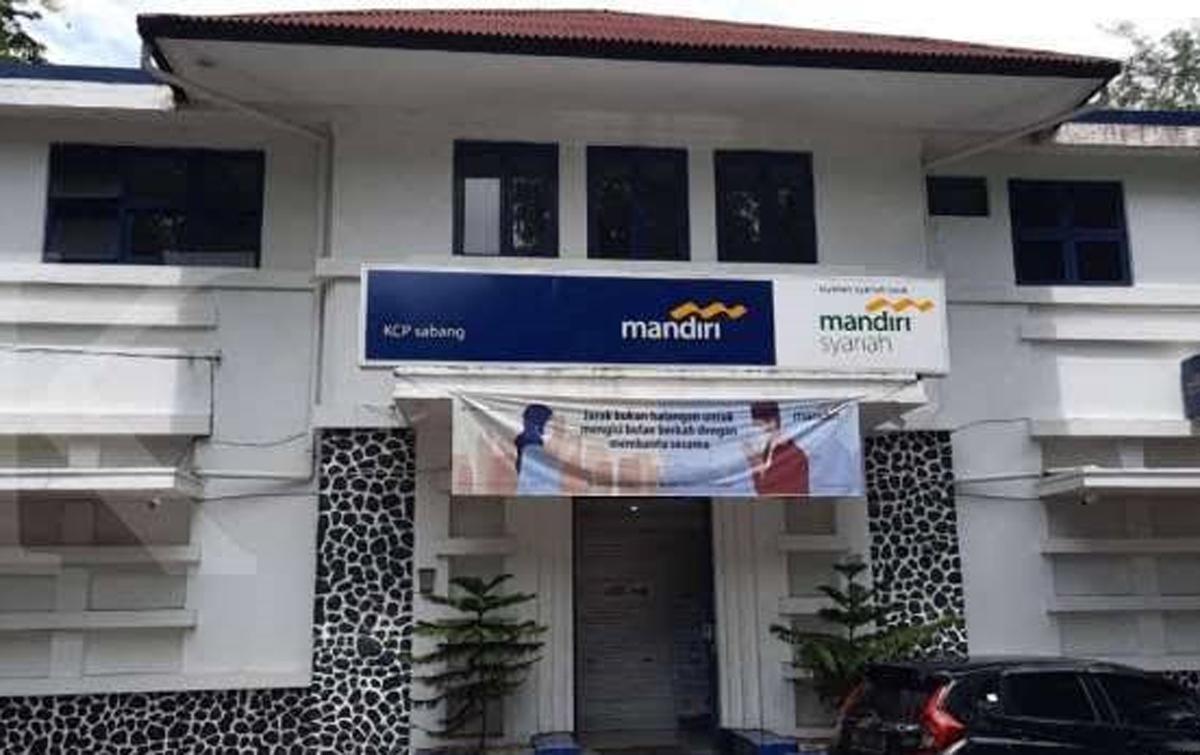 Seluruh Kantor Cabang Bank Mandiri di Aceh Tutup