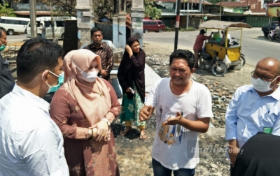 Nora Bawa Bantuan Provinsi untuk Korban Kebakaran Aceh Tamiang