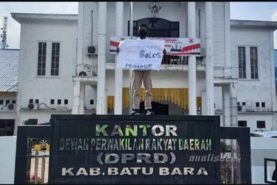 Bolos Saat Paripurna, 14 Anggota DPRD Batubara Dijuluki 'Pengkhianat Rakyat'