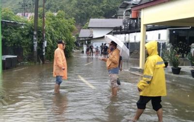 Banjir Aceh Besar Berangsur Surut, Genangan Masih Terjadi di Beberapa Titik