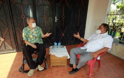 Rahudman Harahap Silaturahim dengan Afifuddin Lubis