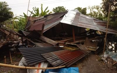 BPBD Serdangbedagai Lakukan Pendataan di Wilayah Terdampak Angin Kencang