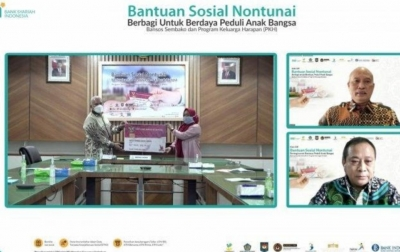 BSI Salurkan Bansos Nontunai Untuk 574.031 KPM di Aceh