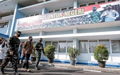 Sentra Vaksinasi SESKO AU Bandung Targetkan 10 Ribu Orang