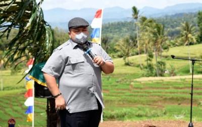 Dolly Pasaribu Ajak Masyarakat Jadikan Huta Ginjang Duta Wisata Desa