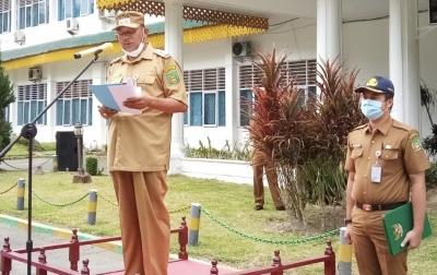 Wakil Bupati Langkat Minta Satpol PP Terus Awasi Prokes