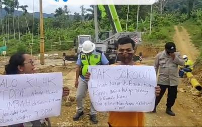 Nia Sihaloho Menghentikan Pengeboran Instalasi Limbah PT Dairi Prima Mineral