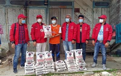 Enam Desa di Kabupaten Dairi Terima Bantuan Beras