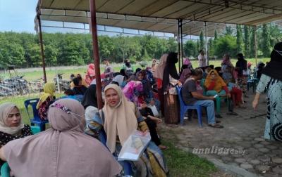 5.450 Warga Dolokmasihul Terima Bantuan Beras