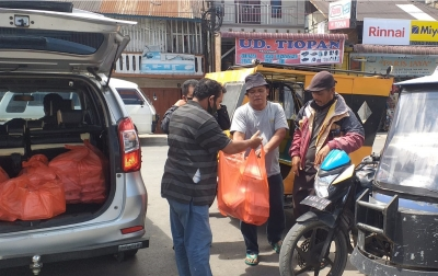 Marlin Indah Karya Bantu Warga Terdampak PPKM
