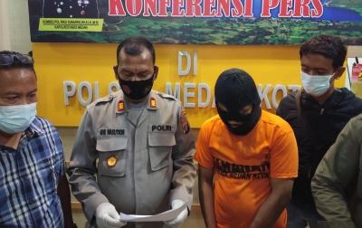 Polsek Medan Kota Tangkap Pelaku Pencurian dan Penjambretan