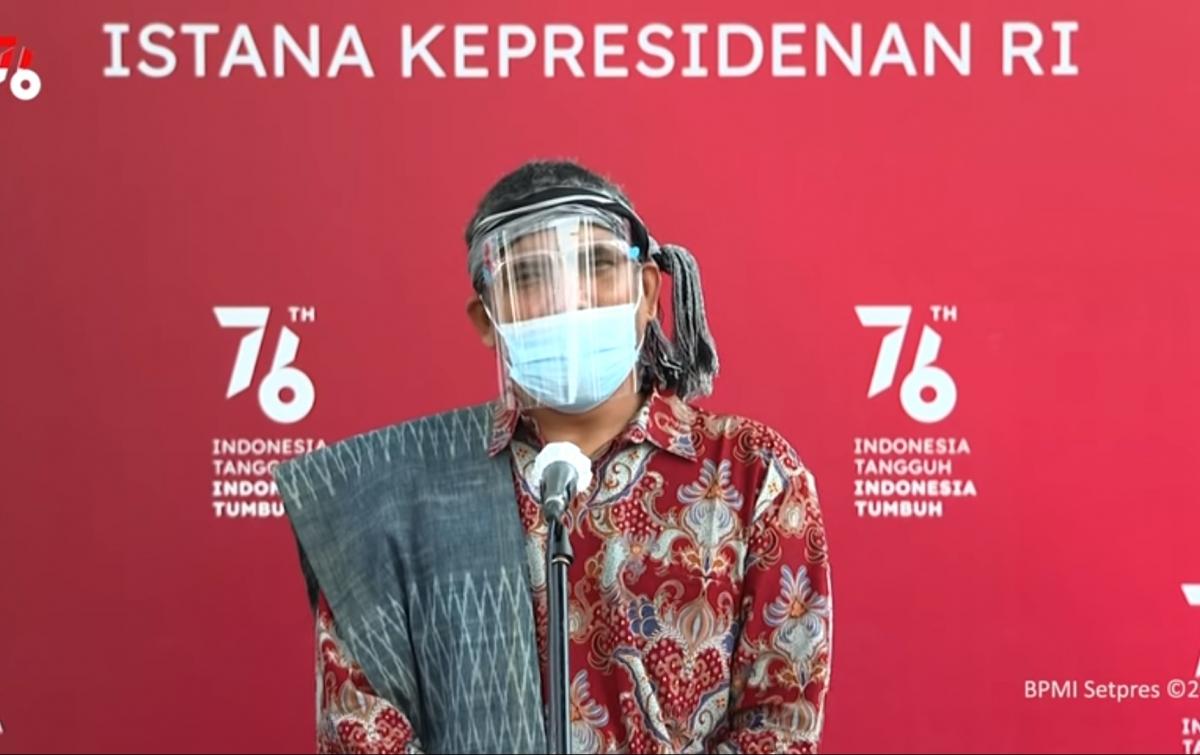 Jokowi Terima Perwakilan Tim 11 Setelah Berjalan dari Toba ke Jakarta