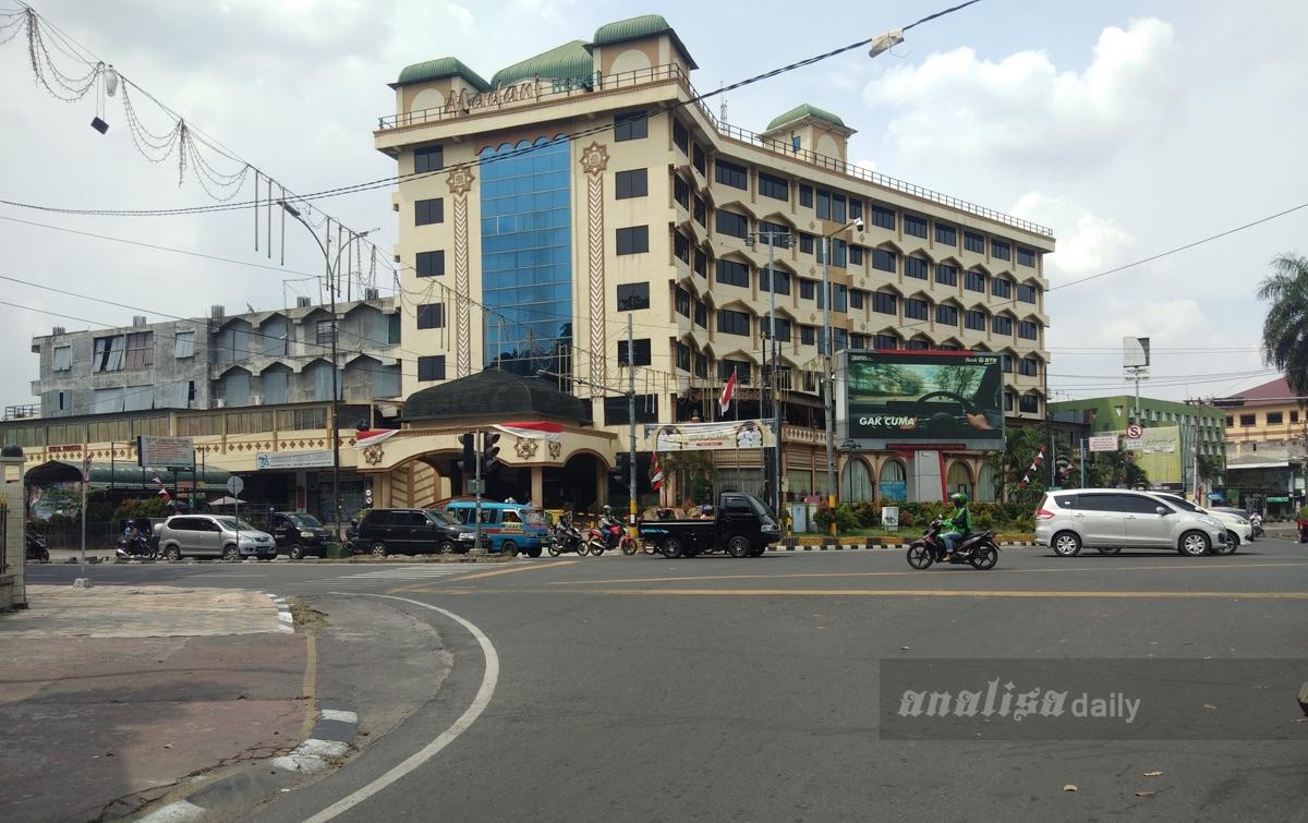 Penyekatan Jalan di Kota Medan Dibuka Hari Ini