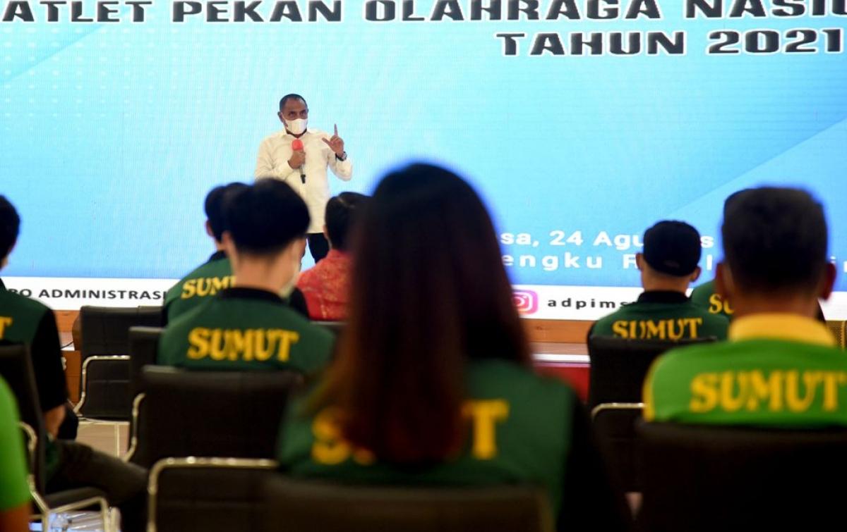 Gubsu Pastikan Beri Dukungan Penuh kepada Atlet PON Papua