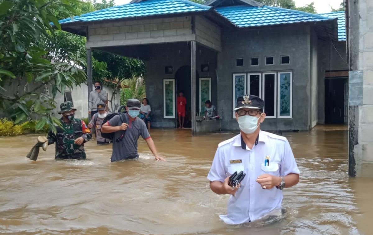 8.355 Rumah Warga Kalimantan Tengah Terdampak Banjir