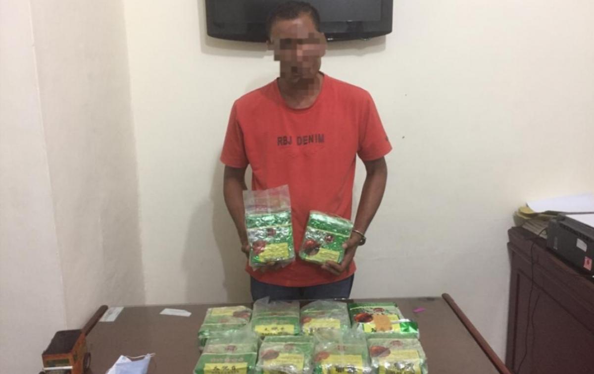 Kurir Narkoba di Tebing Tinggi Ditangkap