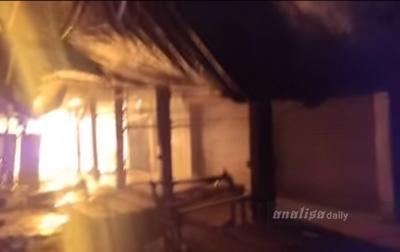 32 Unit Kios Terbakar, Tidak Ada Korban Jiwa