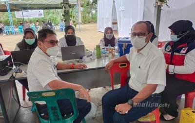 Socfindo Tanah Gambus Vaksinasi Covid-19 Sebanyak 1.330 Karyawan