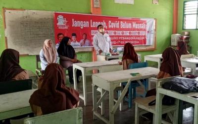 Ketua PMI Paluta Edukasi Pelajar Cegah Penyebaran Covid-19
