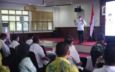 Gubsu Minta Pemko Tanjungbalai Tingkatkan Serapan Anggaran
