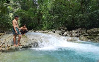 Menyusuri Keindahan Sungai Lau Mentar, Objek Wisata Baru diDeliserdang