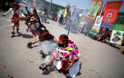 Presiden Meksiko Minta Maaf Kepada Masyarakat Adat Mexica