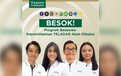 Tanoto Foundation Buka Pendaftaran Program Beasiswa Kepemimpinan TELADAN 2022
