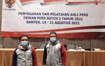 Dua Anggota PWI Sumut Ikuti Pelatihan Ahli Dewan Pers