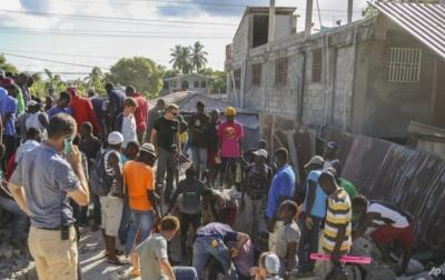 Gempa Bumi di Haiti Menewaskan 2.189 Orang
