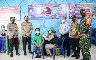 Lapas Siborongborong Vaksinasi Covid-19 Narapidana