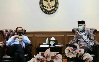 Gubernur Nova Minta Mahfud MD Perjuangkan Perpanjangan Dana Otsus Aceh