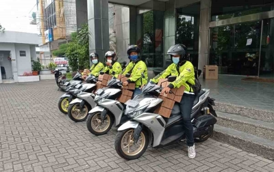 Aerox Ranger Medan Jumpai Konsumen, Sosialisasikan Fitur Y-Connected