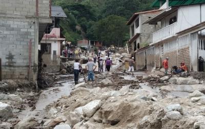 Banjir di Venezuela, Korban Tewas Jadi 20 Orang