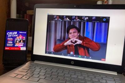 Telkomsel Gelar Acara Celeb on Cam Bersama Rizky Febian