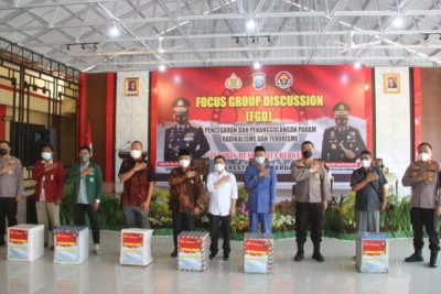 Divisi Humas Polri Gelar FGD di Polresta Deli Serdang