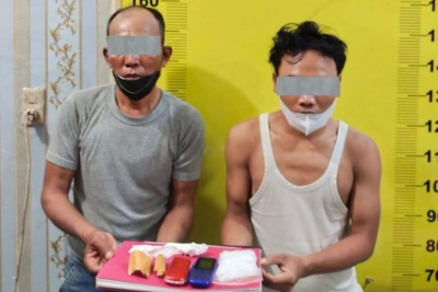 Edarkan Sabu Sampai Asahan, Dua Warga Tanjungbalai Diciduk Polisi