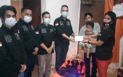 AMS XII Kota Medan Ajak Masyarakat Bantu Anak Penderita Penyakit Ginjal dan Usus