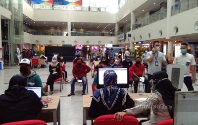 5.000 Calon Penumpang di Bandara Kualanamu Divaksin Covid-19