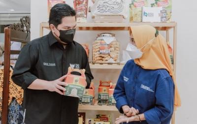 Menteri BUMN Apresiasi PLN Dukung 8 Ribu UMKM Hadapi Pandemi Covid-19