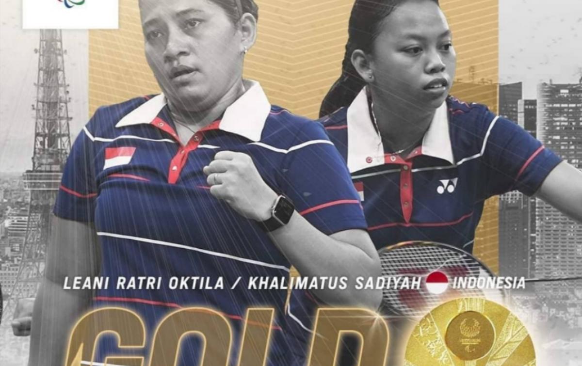 Peroleh Emas, Jokowi Ucapkan Selamat Pada Leani/Khalimatus