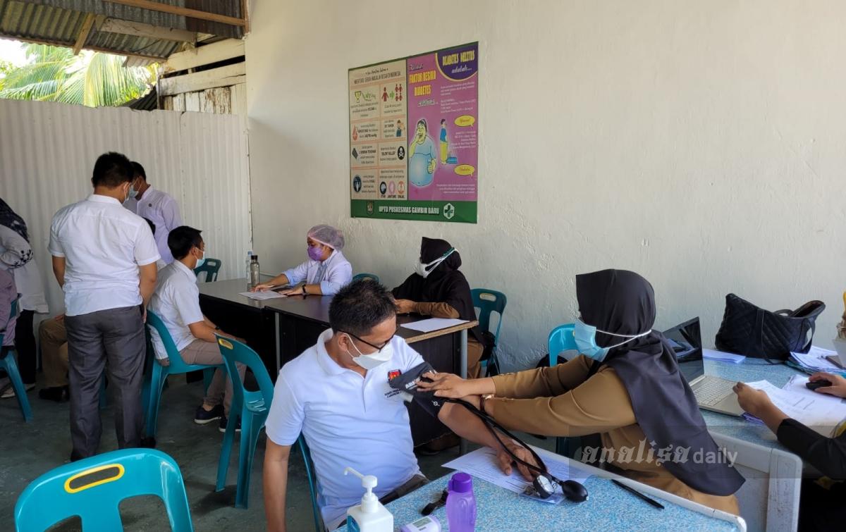 KPUD Asahan Komitmen Dukung Program Vaksinasi Nasional