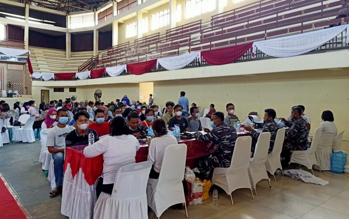 Polres Asahan Gelar Vaksinasi Merdeka Tahap II untuk 1.500 Orang
