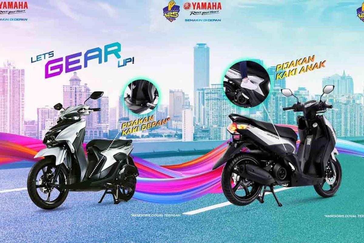 Promo Spesial Yamaha Gear 125 di Brastagi Supermaket