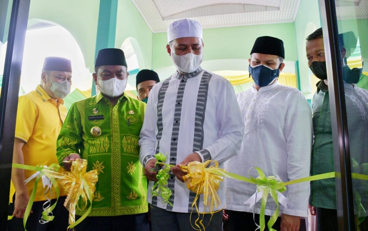 Wagub Sumut Musa Rajekshah Resmikan Masjid Al Musannif ke-23 di Sei Rampah