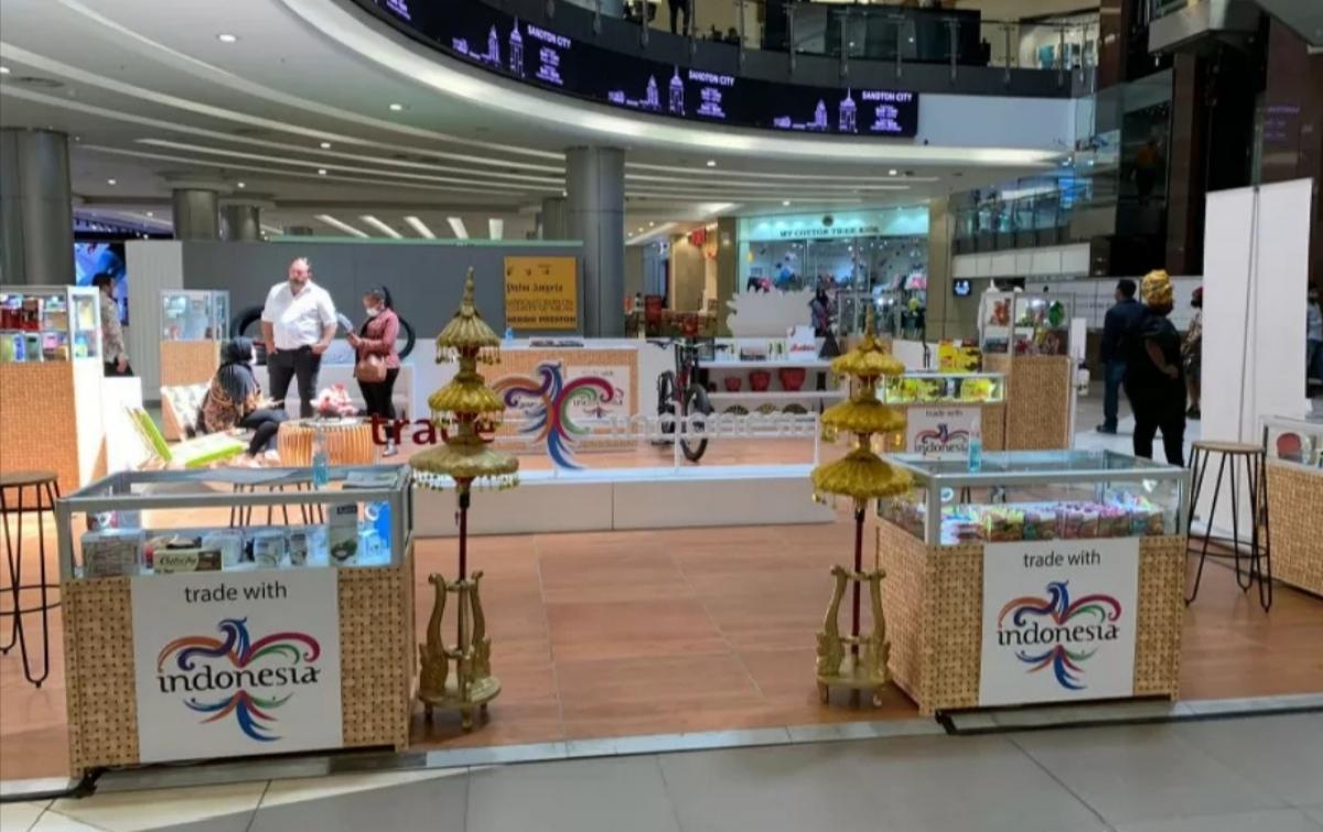 Produk Unggulan Indonesia Dipasarkan di Mal Afrika Selatan