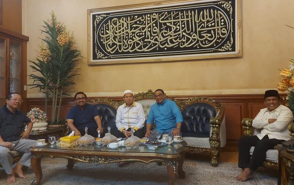 Silaturahmi Mantan Wali Kota Binjai dan Wabub Batubara Lahirkan Komitmen Kebersamaan