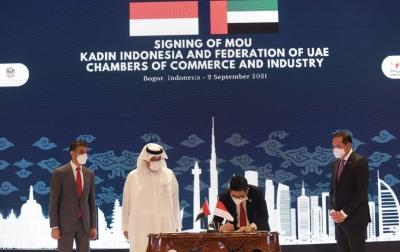 KADIN Usung Pemberdayaan UMKM di Kesepakatan Perjanjian Kerja Sama Ekonomi Indonesia-UAE
