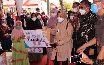 Mensos Risma Salut, Aceh Berani Coret Penerima Bansos Tak Layak