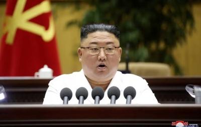 Kim Jong Un Serukan Pencegahan Bencana Alam dan Covid-19