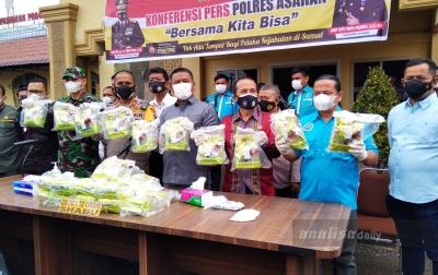 Polres Asahan Sita 28 Kg Sabu dari Kurir Narkoba